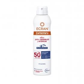 Spray solar FP 50+ para pieles sensibles y atópicas Denenes 250 ml.