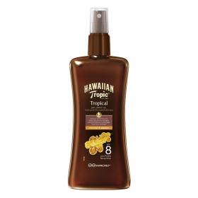 Aceite solar PF 8 Hawaiian Tropic 200 ml.