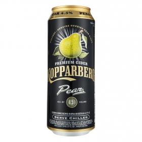 Sidra Kopparberg Premium sabor pera lata 50 cl.