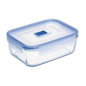 Recipiente Hermetico Rectangular de Cristal LUMINARC Pure Box Active 0,122l - Transparente