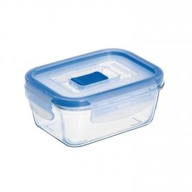 Recipiente Hermetico Rectangular de Cristal LUMINARC Pure Box Active 0,38 L. - Transparente