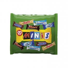 Chocolatinas surtidas mini Minis 400 g.