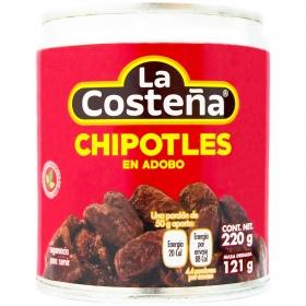Chiles Chipotles adobados La Costeña 220 g.