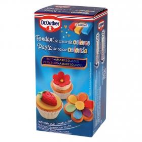 Fondant de azúcar de colores Dr. Oetker 300 g.