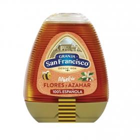 Miel de flores y azahar Granja San Francisco 350 g.