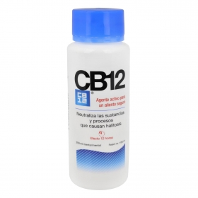 Enjuague bucal para un aliento seguro CB12 250 ml.