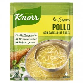Sopa de pollo con cabello de angel Knorr 71 g.