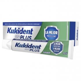 Crema adhesiva premium para dentaduras postizas Kukident 1 ud.