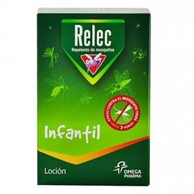 Loción infantil repelente de mosquitos Relec 125 ml.