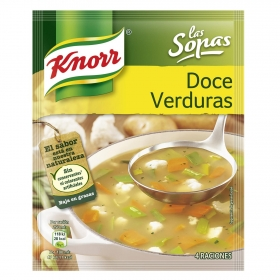 Sopa de doce verduras Knorr 41 g.