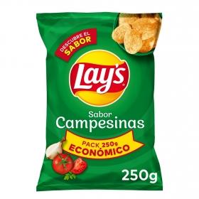 Patatas fritas sabor campesinas Lay's 250 g.