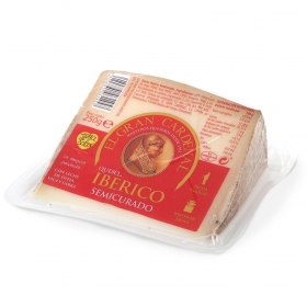 Queso semicurado mezcla ibérico El Gran Cardenal cuña 1/8, 250 g