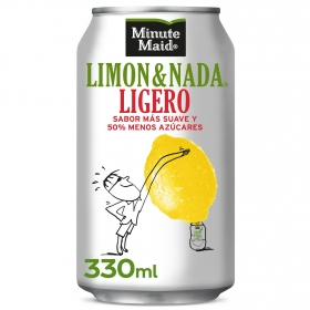 Limonada Minute Maid Ligero sin gas lata 33 cl.