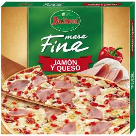 Pizza de jamón y queso Buitoni 325 g.