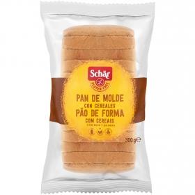 Pan de cereales Schär sin gluten 300 g.