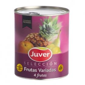 Cocktail de frutas en almíbar Juver 500 g.
