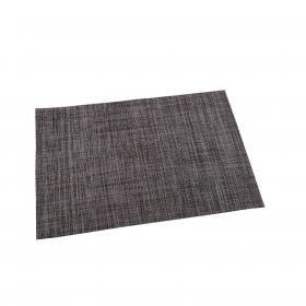 Mantel Individual Cuadrado de Vinilo RENBERG 45x30cm - Gris