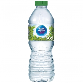 Agua mineral Aquarel natural 50 cl.
