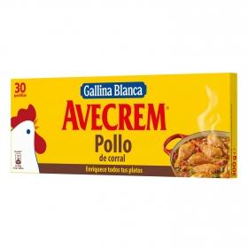 Caldo de pollo Gallina Blanca 30 pastillas