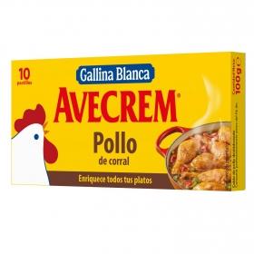 Caldo de pollo Gallina Blanca 10 pastillas