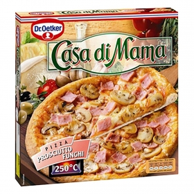 Pizza prosciutto Casa di Mama Dr. Oetker 380 g.