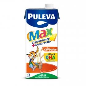 Bebida láctea crecimiento y desarrollo cereales Puleva Max brik 1 l.