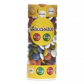 Grageas de chocolate Lacasitos Lacasa 225 g.