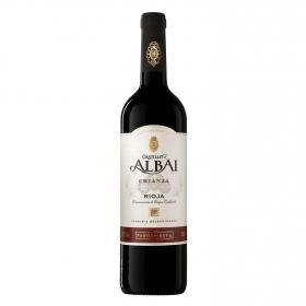 Vino D.O. Rioja tinto crianza Castillo de Albai 75 cl.