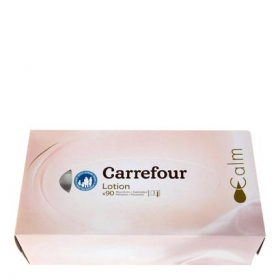 Tissues faciales Carrefour 90 ud.