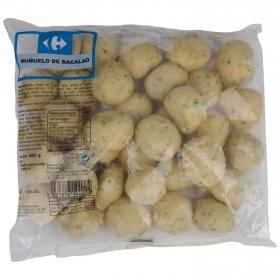 Buñuelos de bacalao Carrefour 400 gr