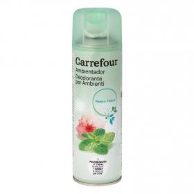 Ambientador frescor menta Carrefour 300 ml.