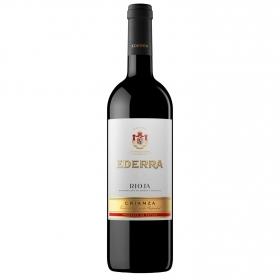 Vino D.O. Rioja tinto crianza Ederra 75 cl.