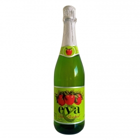 Sidra Eva sin alcohol 75 cl.