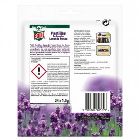 Antipolillas pastillas perfumadas 24 ud.