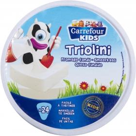 Queso fundido 24 porciones Carrefour Kids 400 g.