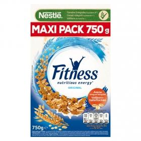 Cereales de avena integral Fitness Nestlé 750 g.