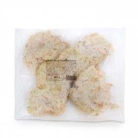 Tortilla de camaron congelada Carrefour 350 g