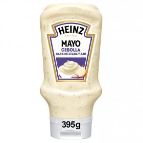 Mayonesa con cebolla caramelizada y ajo Heinz envase 395 ml.