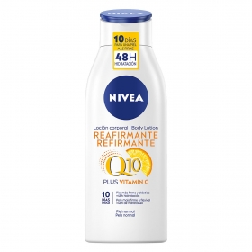 Loción corporal Reafirmante para piel normal Nivea 400 ml.