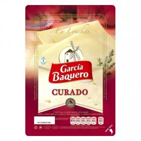 Queso curado lonchas García Baquero 125 g.