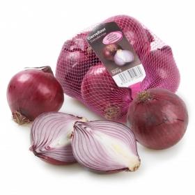 Cebolla roja Carrefour malla 500 g