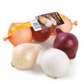 Surtido de cebollas para ensalada Carrefour malla 500 g