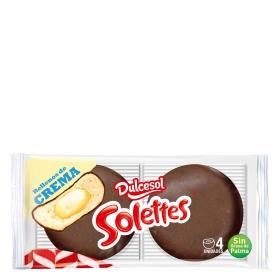 Solettes crema DulceSol Pack de 4 ud.