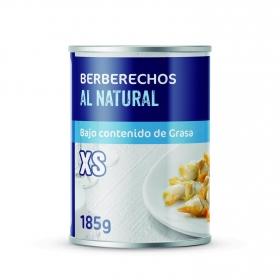 Berberechos al natural Carrefour 90 g.