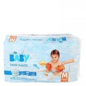 Bañador pañal Carrefour Baby T5-6 (12+ kg.) 11 ud.