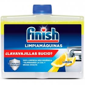 Limpiamáquinas limpieza profunda para el lavavajillas limón Finish 250 ml.