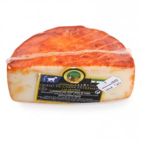 Queso curado de cabra graso corteza al pimentón Villuerca El Consorcio de Quesos 1/2 pieza 300 g aprox