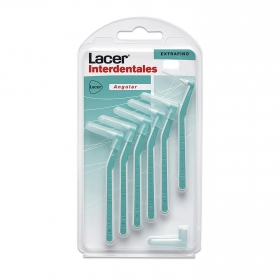Cepillo dental interdentales extrafino Lacer 6 ud.