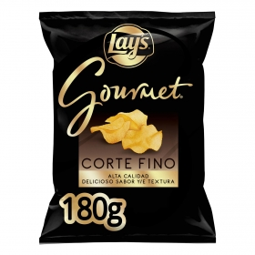 Patatas fritas corte fino gourmet Lay's 180 g.