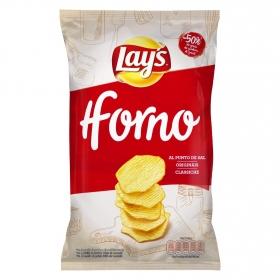 Patatas fritas al punto de sal Horno Lay's 150 g.